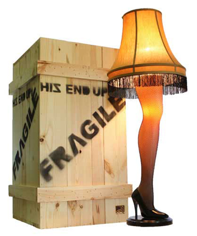 Fragile: Leg Lamp