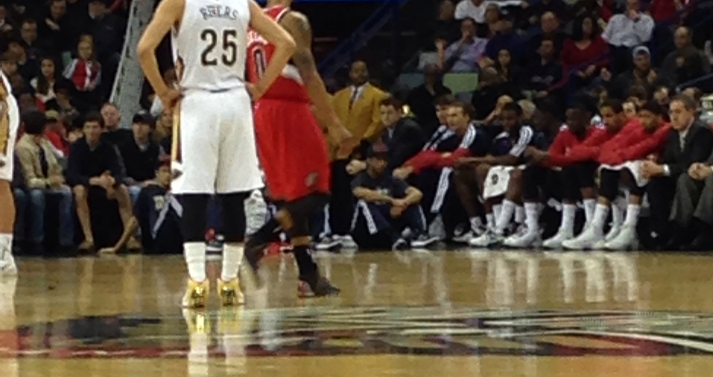 Top 5 Reasons To Sit Court Side At The New Orleans Arena